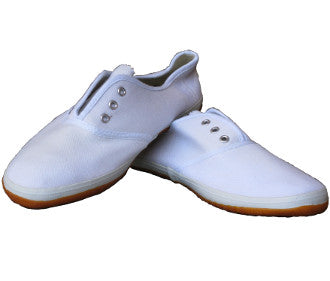 White Kung Fu Shoes
