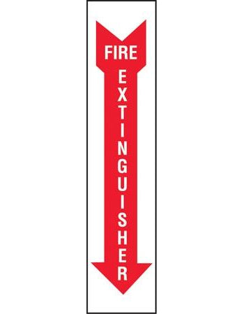 "Decal- ""Fire Extinguisher"""