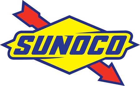 "Die-Cut Decal- ""Sunoco"" Logo"