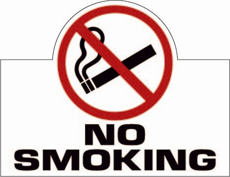 """No Smoking"" Decal"