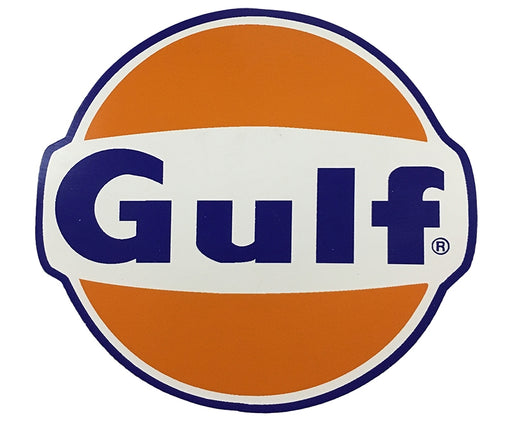 "Die-Cut Decal- ""Gulf"" Logo"
