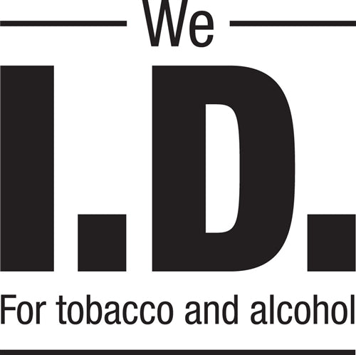 """We Id For Tobacco and Alcohol"" Decal"