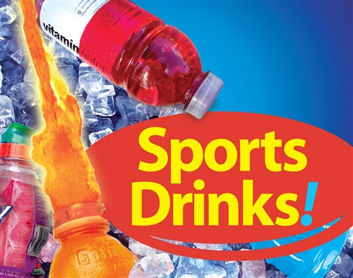Sports Drinks Pump Topper