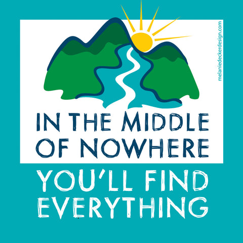 In the Middle of Nowhere (Sticker)