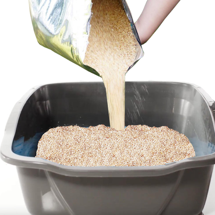 Natural Non-Clumping Scoop Free Cat Litter | NonScents.com