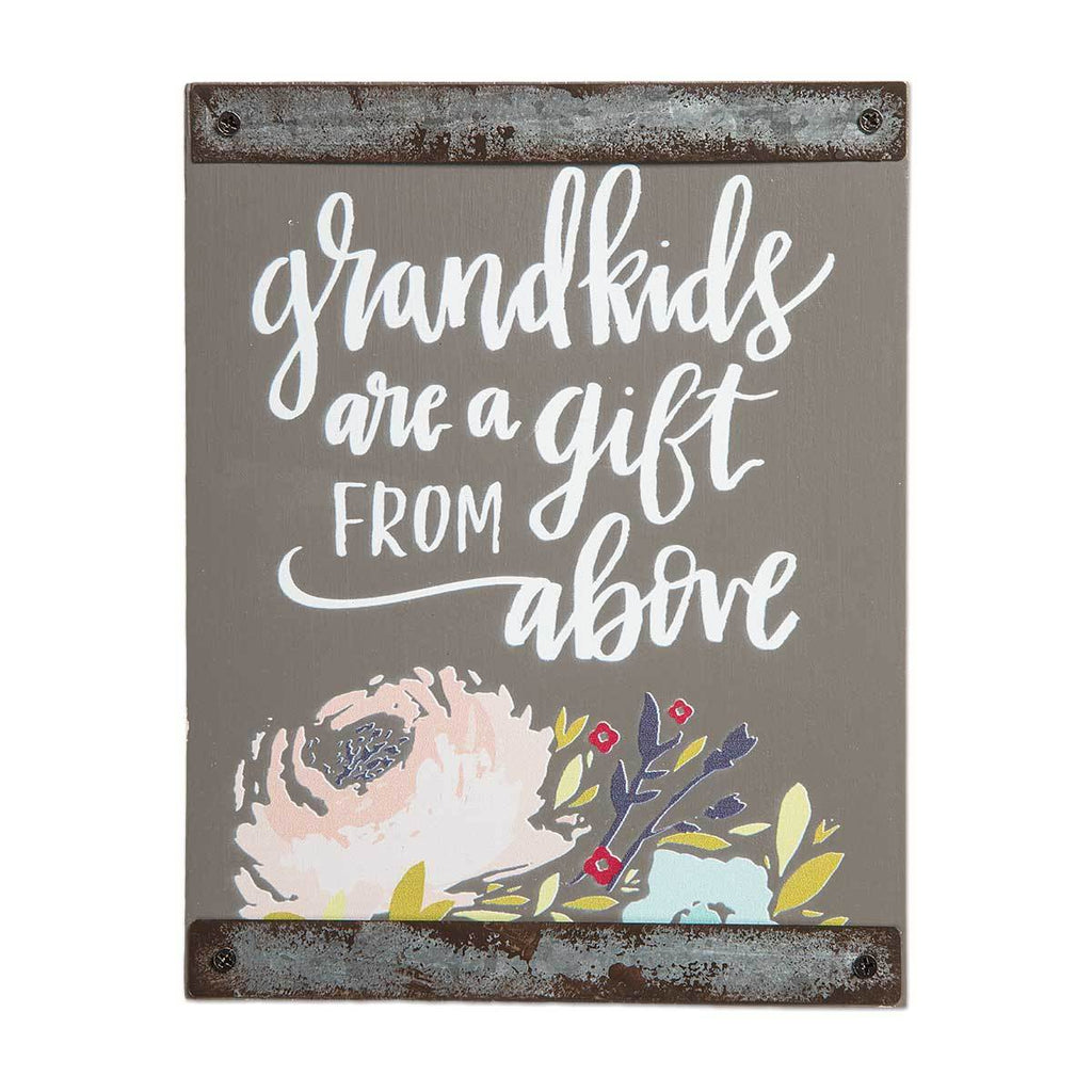 GRANDKIDS ARE A GIFT Sentiment Block