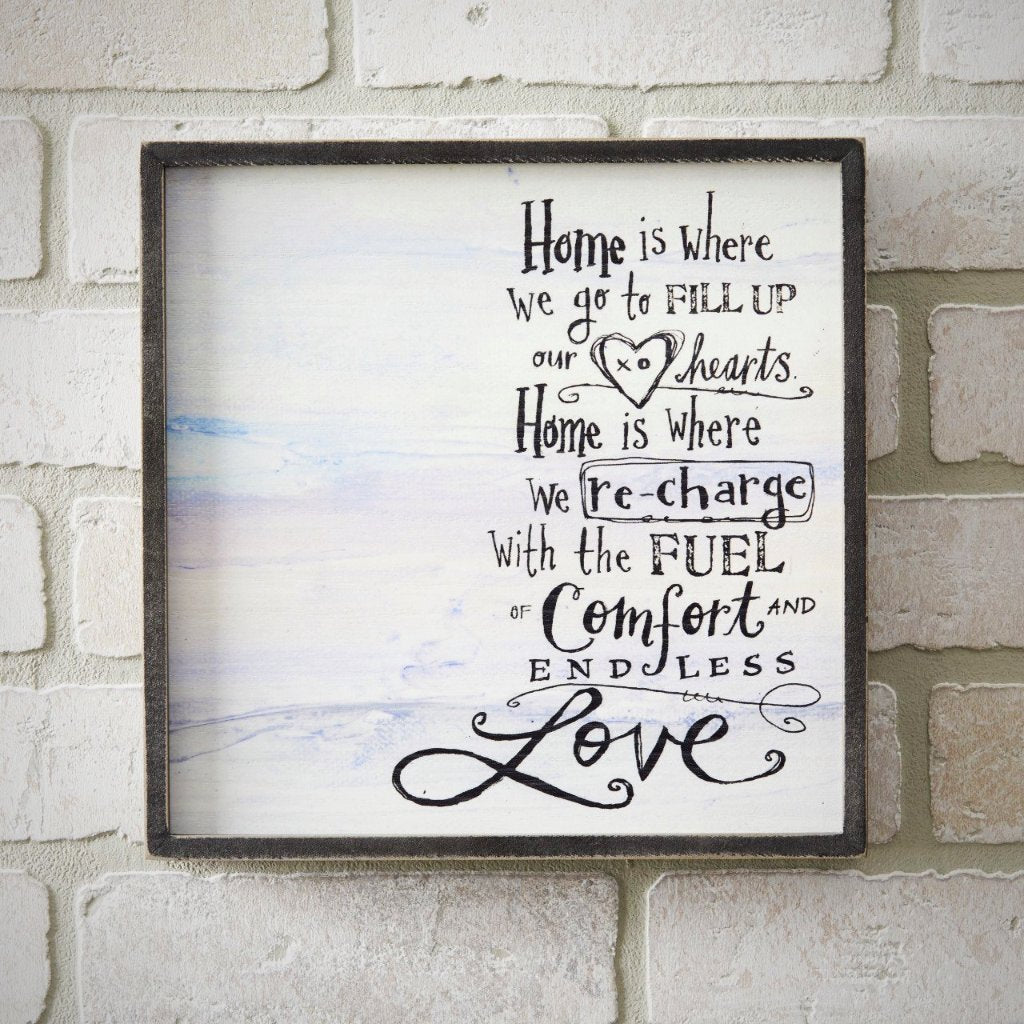 HOME IS WHERE... Wall Art