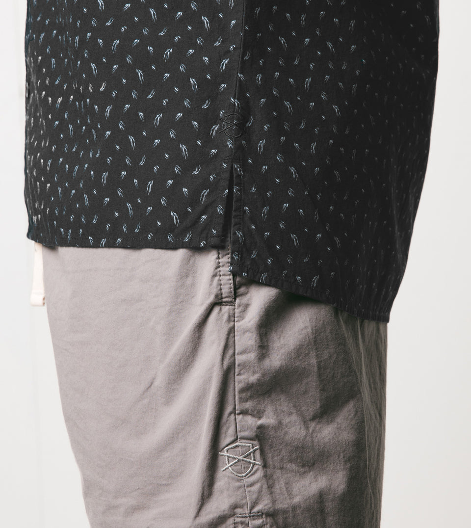 Fern SS Shirt Vintage Black - Sale