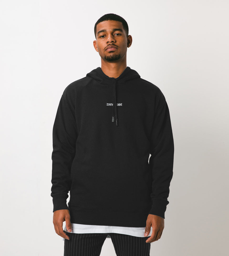 Imprint Rugger Hood Sweat Black - Sale