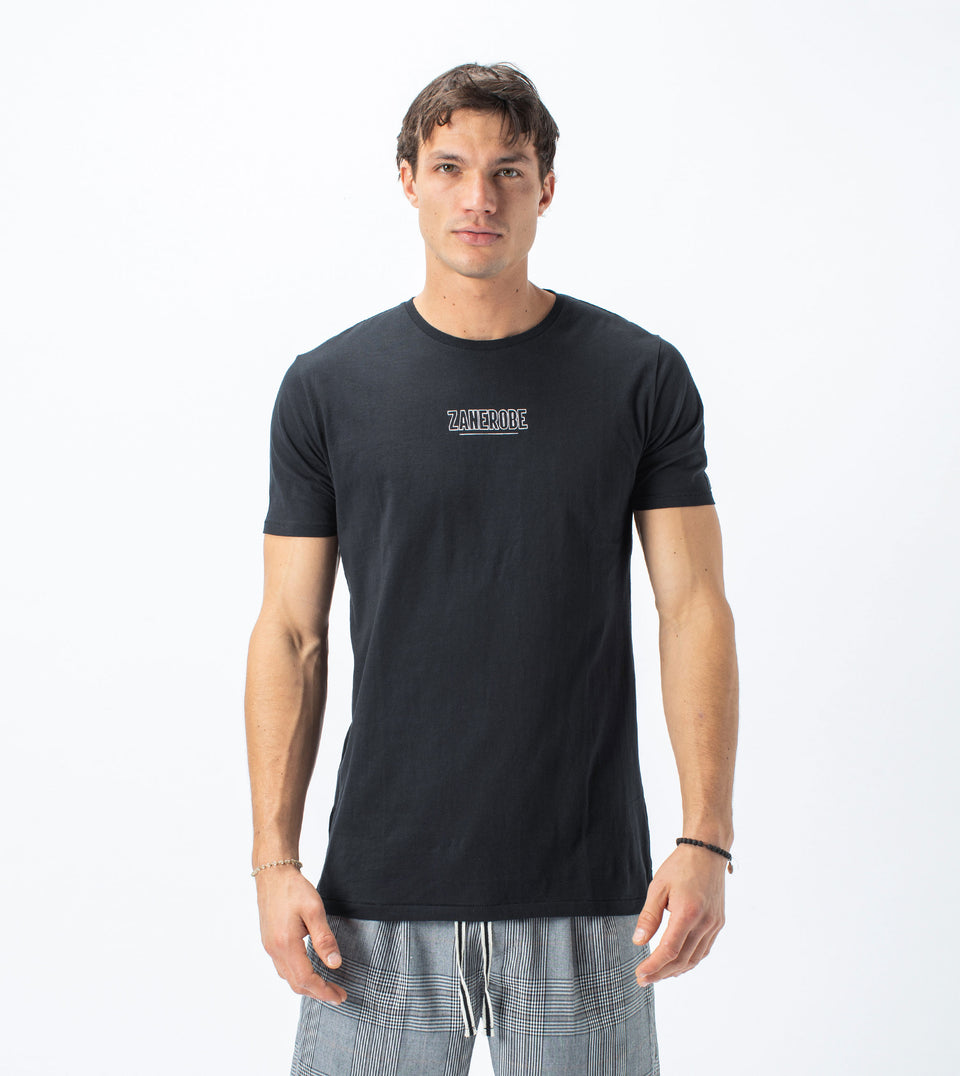 Underline Flintlock Tee Black
