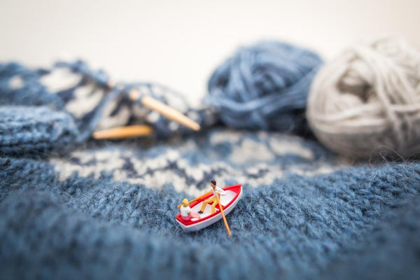 Tiny People - Knitting-storm