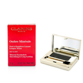 Clarins Ombre Minerale Smoothing & Long Lasting Mineral Eyeshadow - # 15 Black Sparkle --2g/0.07oz By Clarins