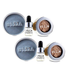 Magnificent Metals Foil Finish Eye Shadow With Mini Stay All Day Liquid Eye Primer Duo Pack - Metallic Kitten - 2x2pcs