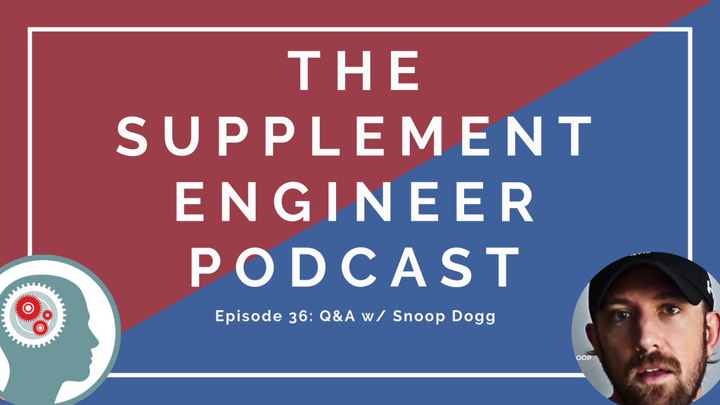 Episode #36 of the Supplement Engineer Podcast features Justin Hall, creator of Supplement Snoop, for the third time as we tag team a listener Q&A session.
