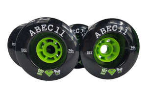 107mm Black ABEC 11 ReFly 74a