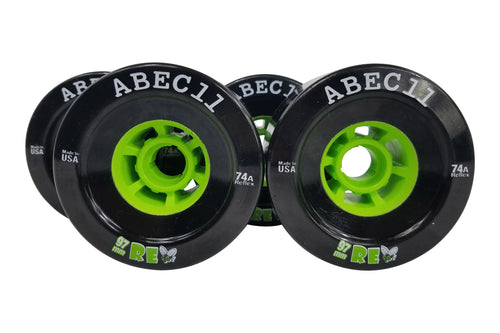 97mm Black ABEC 11 ReFly 74a