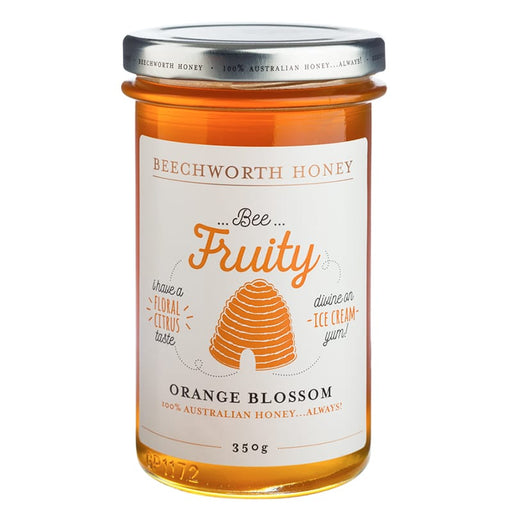 Beechworth Honey Bee Fruity Orange 350g
