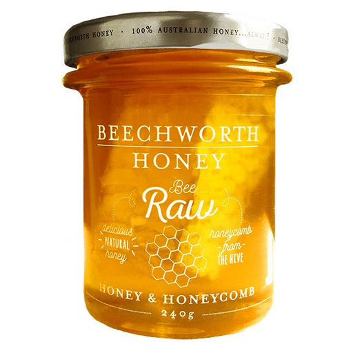 Beechworth Bee Raw Honey & Honeycomb 240g