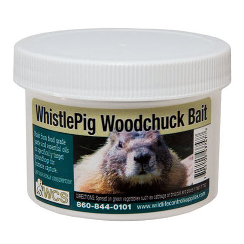 WCS  Whistle Pig Woodchuck Paste Bait 8 oz.
