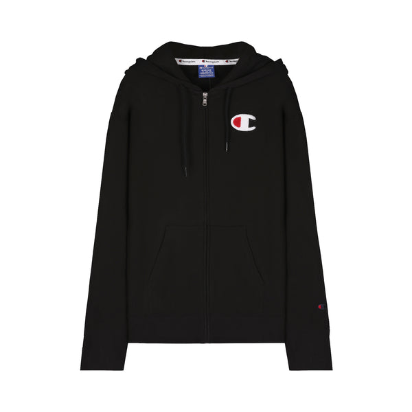 Champion Zip-Through Script Logo Hoodie