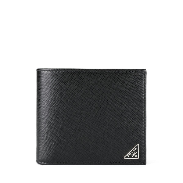 Prada Saffiano Leather Short Wallet