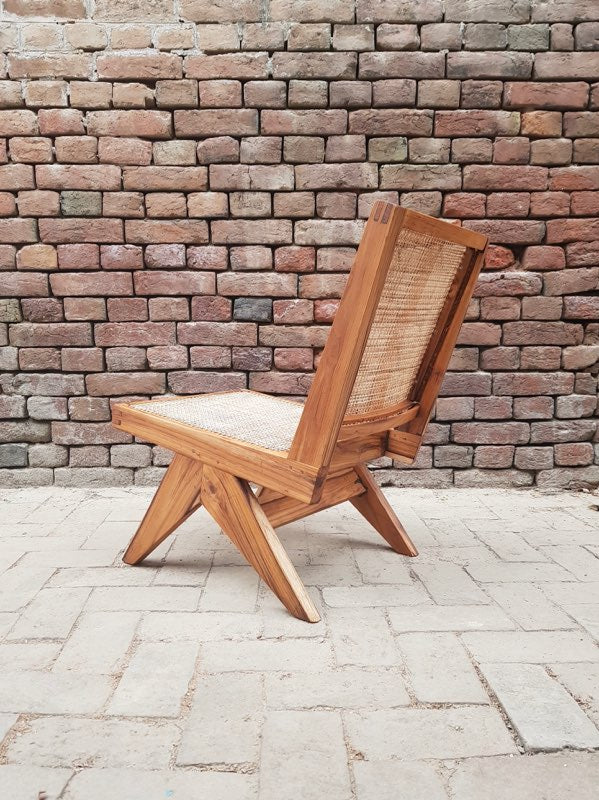 Armless Easy Chair
