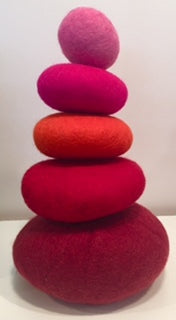 Stacking Stones in Red Tones - Sticks & Stones Education