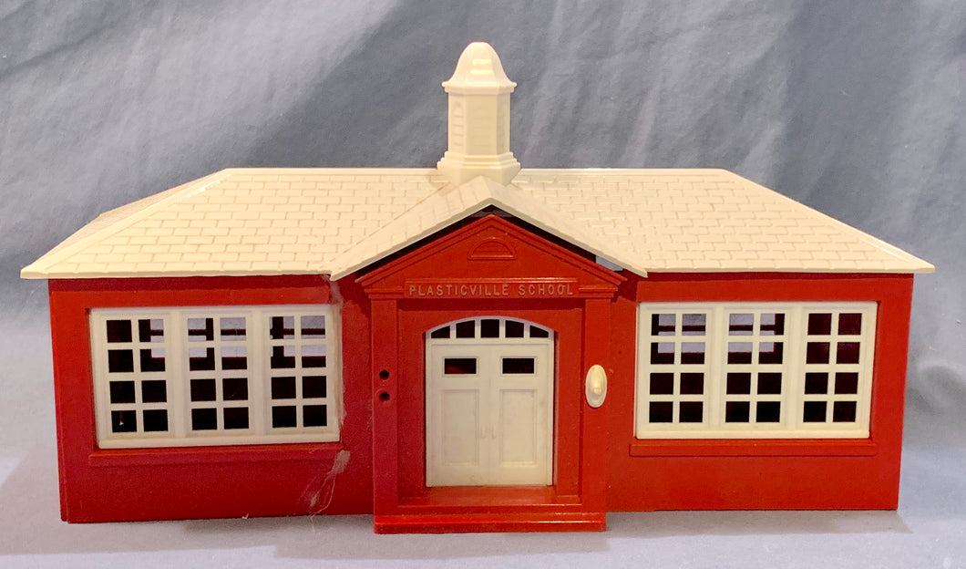 Plasticville School House Miniature from