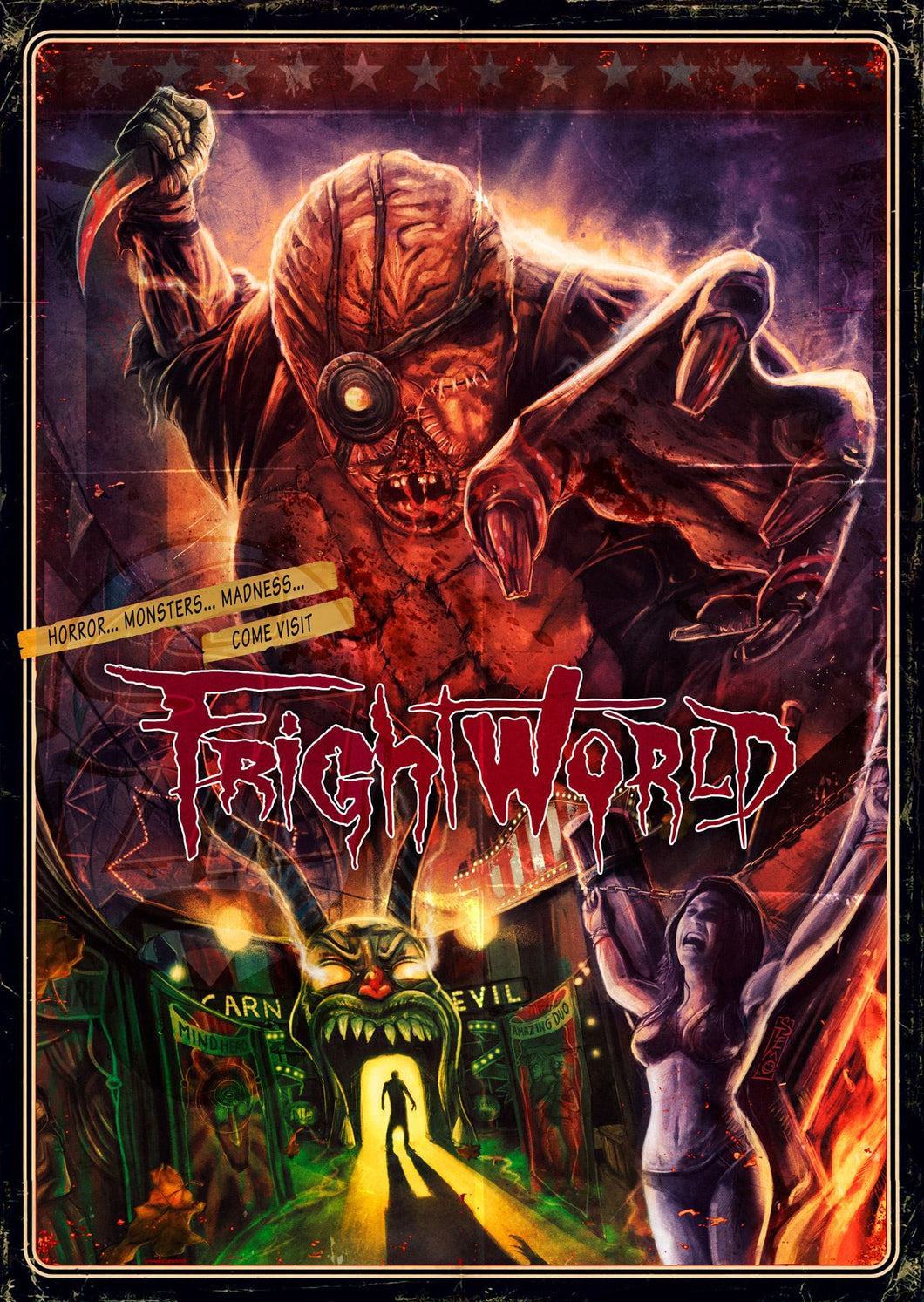 Frightworld Bluray