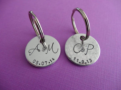 Personalized Keychain, pair from above