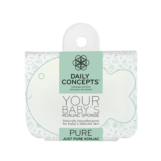 Daily Baby Konjac- Pure - Daily Concepts luxury Spa Goods