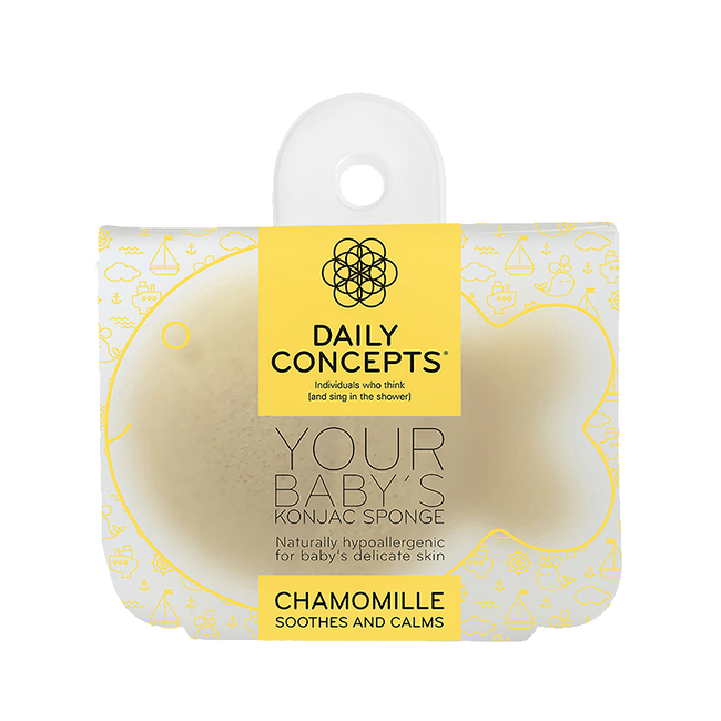 Daily Baby Konjac- Chamomille Daily Concepts Luxury Spa Goods