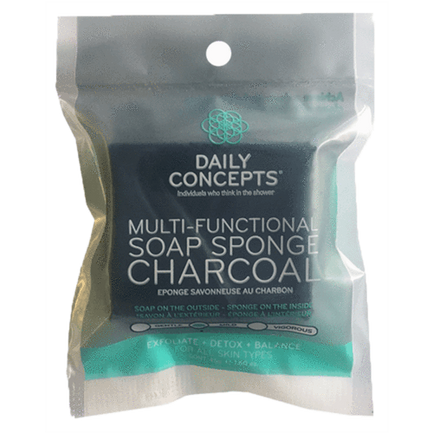 Multi- Functional Soap Sponge Charcoal