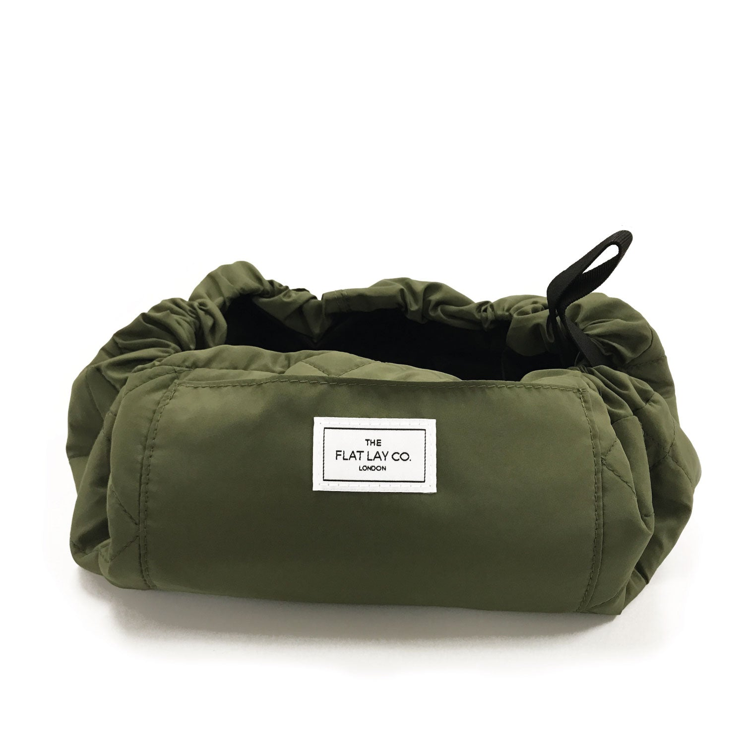 Utility Green Open Flat Makeup Bag 50cm