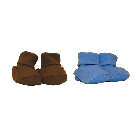 Newborn Organic Interlock Booties