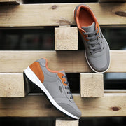 Pearlzone_Men Work Suede Leather Sneakers