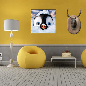 "5D DIY Partial Diamond Painting ""Happy Feet"""
