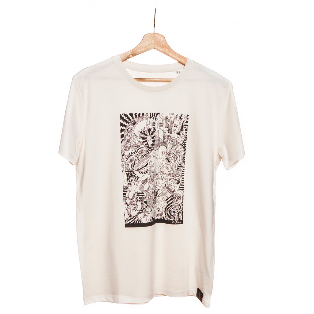 Highland Vintage White T-shirt - Trip
