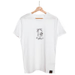 Highland White T-shirt - Logo