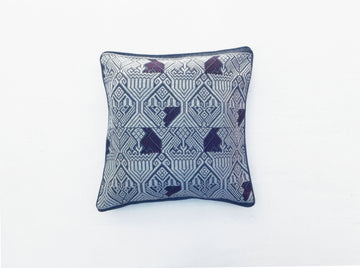Colibri Cushion Blue and Purple
