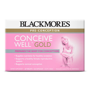 CONCEIVE WELL GOLD 28+28 - Blackmores Corporate Program by Kat Asia Pte Ltd