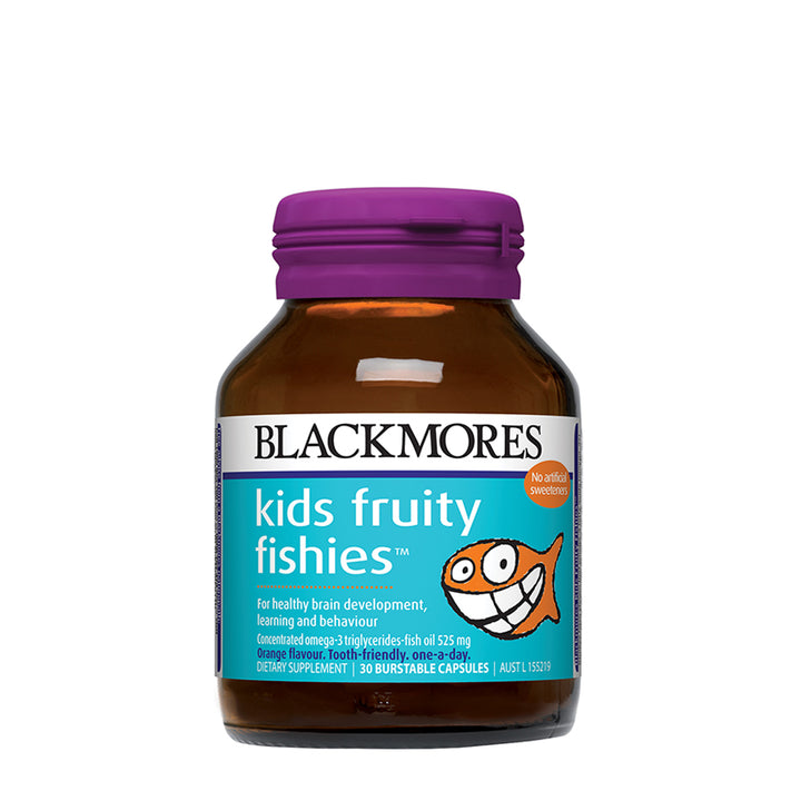 KIDS FRUITY FISHIES 30s - Blackmores Corporate Program by Kat Asia Pte Ltd