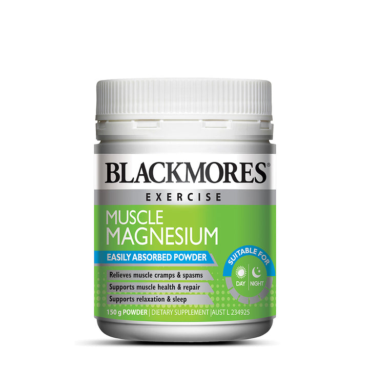 MUSCLE MAGNESIUM 150g - Blackmores Corporate Program by Kat Asia Pte Ltd