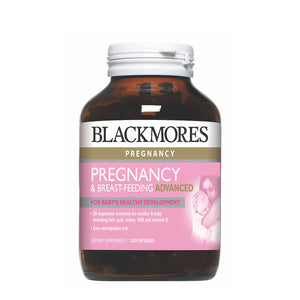 PREGNANCY & BREAST-FEEDING ADVANCED 120s - Blackmores Corporate Program by Kat Asia Pte Ltd