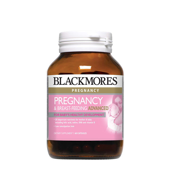 PREGNANCY & BREAST-FEEDING ADVANCED 60s - Blackmores Corporate Program by Kat Asia Pte Ltd