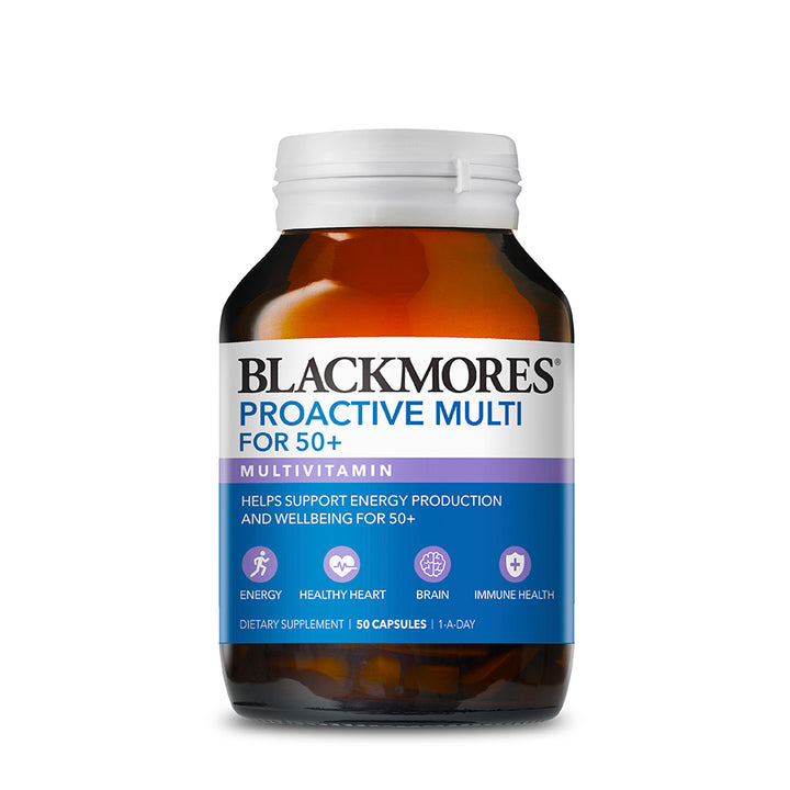 PROACTIVE MULTI FOR 50+ 50s - Blackmores Corporate Program by Kat Asia Pte Ltd