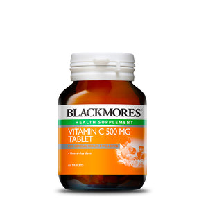 VITAMIN C 500MG TABLET 60s - Blackmores Corporate Program by Kat Asia Pte Ltd