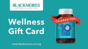 Blackmores Wellness Gift Card - Blackmores Corporate Program by Kat Asia Pte Ltd