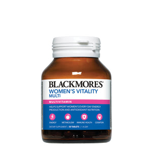 WOMEN'S VITALITY MULTI 50s - Blackmores Corporate Program by Kat Asia Pte Ltd