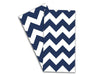 Baker Lovers Dream Tea Towels Set of 2-Navy Blue Chevron